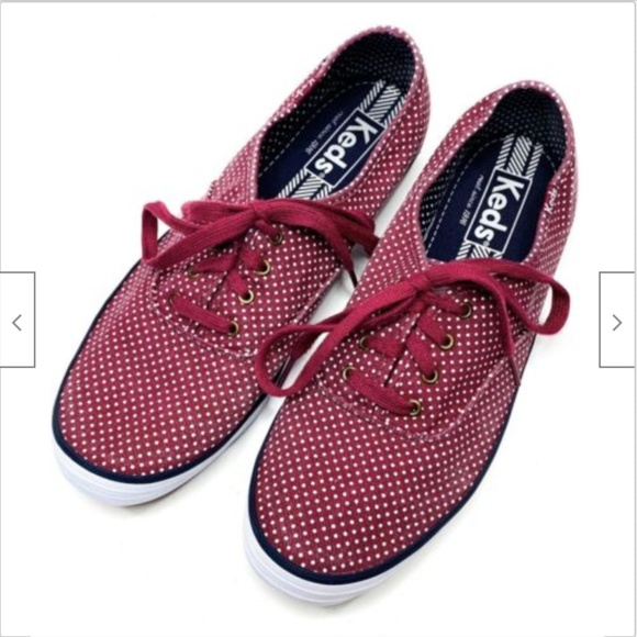 Keds Shoes - Keds Champion Lace Up Dot Tennis Shoes Sneakers